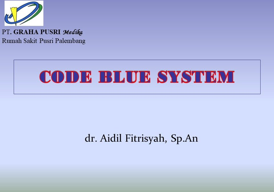 CODE BLUE RS PUSRI