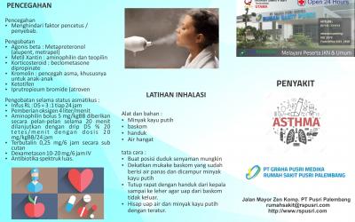 Penanggulangan ASTHMA
